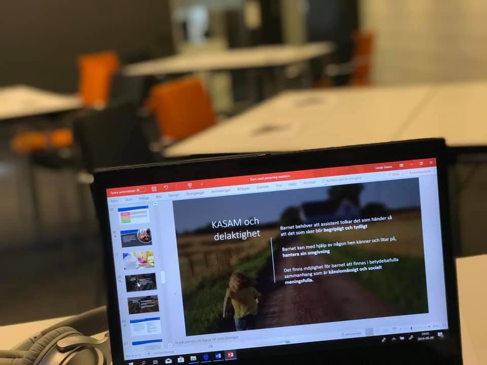bild på dator
